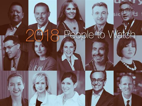 2018 Forecast: 15 People To Watch