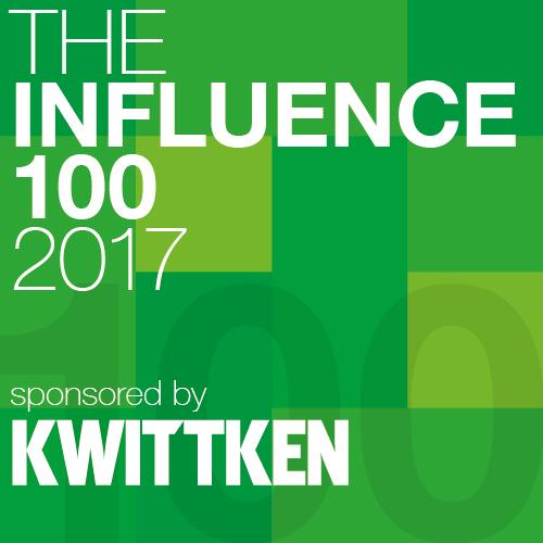 Influence 100 2017 Logo