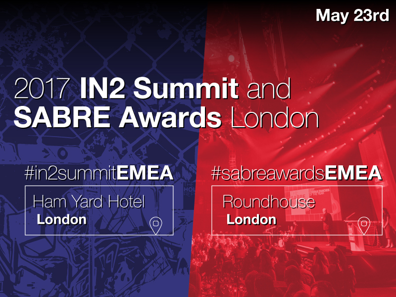 2017 EMEA In2Summit To Focus On Brands In The 'Age Of Rage'